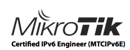 MikroTik Certified IPv6 Engineer – Laufquen
